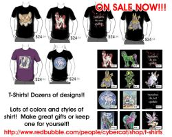 T-Shirt Sale Fantasy and More by lady-cybercat