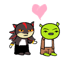 shrek and shadow as homestucks by kawaiidolphinchan