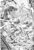 JLA vs. DOOMSDAY by dGREAT1