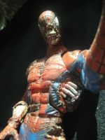 SPIDERMAN ZOMBIE marvel icons by darknightsad