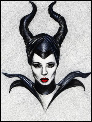 Maleficent by iAdamski