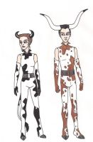 69th Hunger Games: District 10 Chariot Costumes by 13foxywolf666