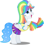 Vector #525 - Princess White Flare #18 by DashieSparkle