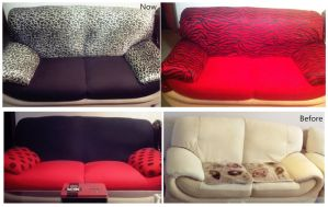 Old to New Sofa, Before After by DearKhan