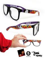 Hendrix Glasses by Bobsmade