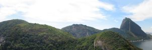 Sight from the Morro do Leme 3 by ViniciusDoideira