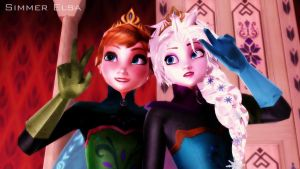 Queens sisters (new editions) by SimmerElsa