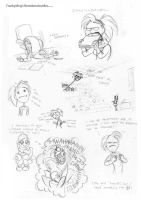 Mie's Boredomdoodles by Frankyding90