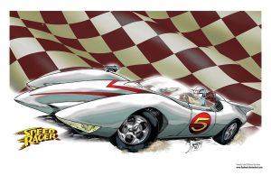 Speed Racer Color by KenHunt