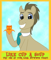 Like (a digital) Cup A Soup by QuilloManar