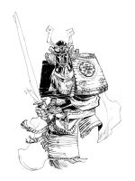 SAMURAI VADER_commission by EricCanete