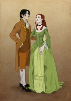 Franz and Elizabeth by Jafean