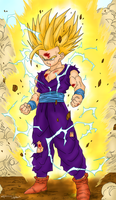 Young Gohan SS2 by Lazaer