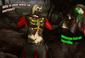 MKX - Ermac and Erron Sharing Clothes by SovietMentality