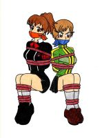 Minako and Chie by Parasyte123
