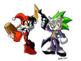 Why so Serious Sonic? by NextGrandcross