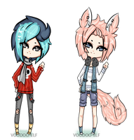 Adopts [259-260] -Taken- by Voodoo-Elf
