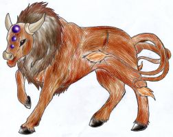 Tauros color by Sulfura