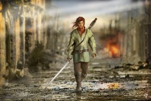 Kvothe - The Kingkiller Chronicle by Harmal