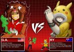 G.A. versus RY -RoundTwoFight by galunatic