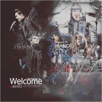 Welcome to Humanoid City ID by ann483