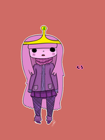 A.T: Princess Bubblegum by LilithKai21