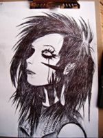 Andy Biersack by lulatheunicorn