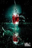 Vintage Red Wine by couleur