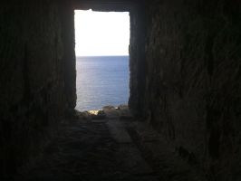 The sea through a window by Labramon