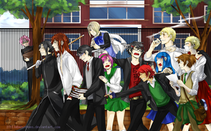 High School Delinquents by littlebabyshoes