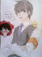Crossover - Onodera Kyoya. by ADFlowright