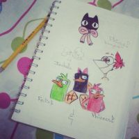 Aburrimiento en clase nivel: by amy-izzy13