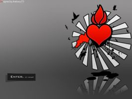 Enter My heart by iheb003