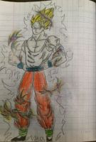 Gohan training by Vominhkhue