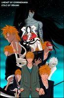 Bleach - Ichigo Evolution by sekaini