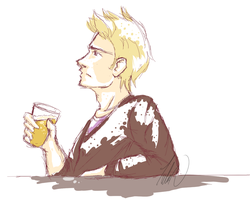 APH: Denmark drink beer by TheRevVengeance6661
