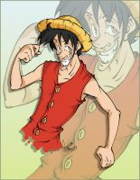 Monkey D Luffy by SpankTB