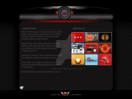 Hi-tech Web Template by TheAlessandro