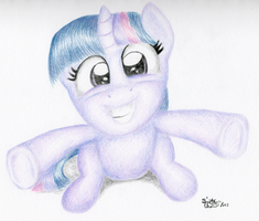 Filly Twily Hugs by KuroiTsubasaTenshi