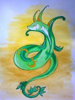 Serperior by chibifox1803