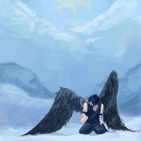 Lyan, The Fallen Angel by Fall-msc