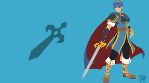 Marth [Commission] by turpinator77