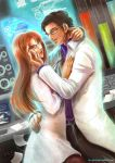 comm khrazah: Bruce and Stephanie by la-sera