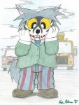 Willard the Badger Used Car Salesman, 2007 by LordDominic