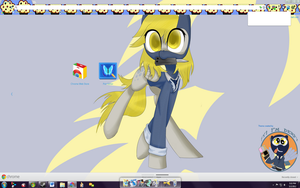 Derpy Spy chrome theme by Midnight-Page