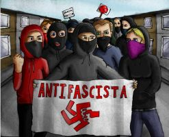 Antifa by urs-obnoxious