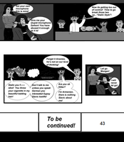 The World War 2 Saga Chap 8 Page 43 b and w by mamc1986