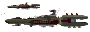 Fringe World Battle Cruiser by DJBIG
