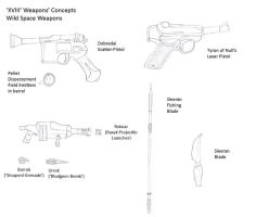 XVIII Concepts- Rim Weapons by R-Zion