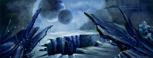 Icy expanses by syntyni
